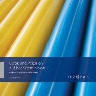 Broschüre GFK-Mastenwerk Neumarkt - Europoles