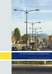 Broschüre GFK-Lichtmasten - Europoles