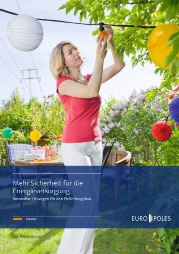 Broschüre Energie - Europoles