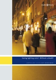 Saving lighting costs? Without a doubt! - Europoles