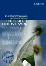ECOLOGICAL LIFE CYCLE ASSESSMENT - Europoles