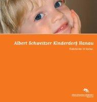 Albert-Schweitzer- Kinderdorf Hanau Gesamtbroschüre