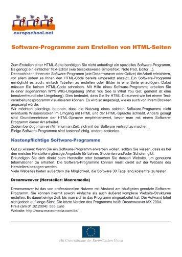 3d Software Programme Für Tontechnik Und Video Europschool