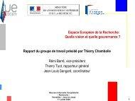 Espace Européen de la Recherche - Eurosfaire
