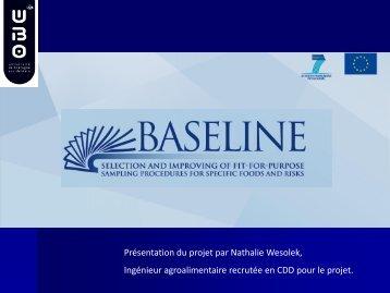 8_Témoignage laboratoire: projet BASELINE - Eurosfaire