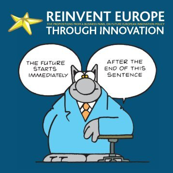 Reinvent Europe through innovation - European Commission - Europa