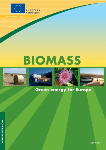 Biomass - Green energy for Europe - European Commission - Europa