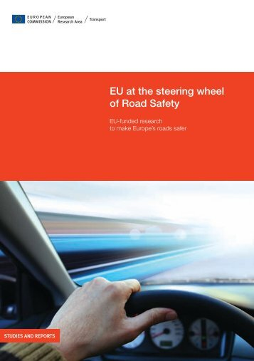 EU at the steering wheel of Road Safety - EU Bookshop - Europa