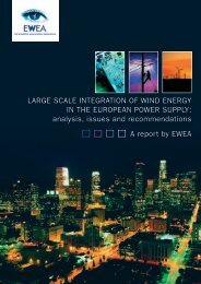 Large scale integration of wind energy in the European power ...