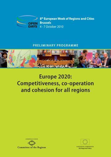 Preliminary Programme - European Commission - Europa