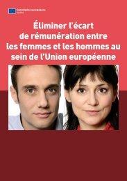 Éliminer l'écart de rémunération entre les femmes et les ... - Eurosfaire