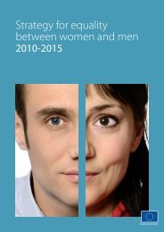 Strategy for equality between women and men - 2010 ... - Eurosfaire