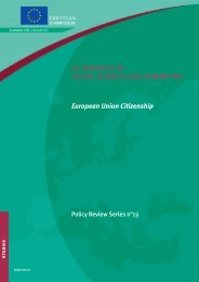 European Union Citizenship EU RESEARCH IN ... - Eurosfaire