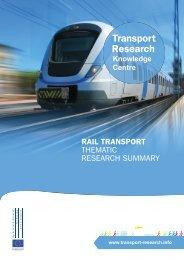 TRS Rail Transport - Transport Research & Innovation Portal