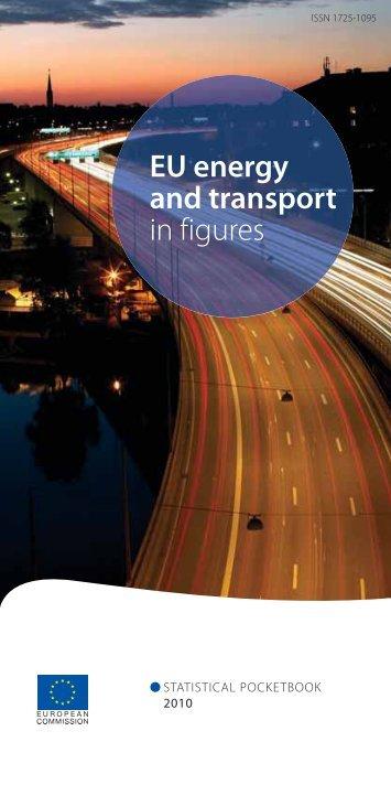 EU energy and transport in figures - EU Bookshop - Europa