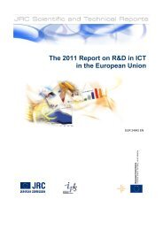 The 2011 report on R&D in ICT in the European Union - Eurosfaire