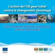 L'action de l'UE pour lutter contre le changement ... - Eurosfaire