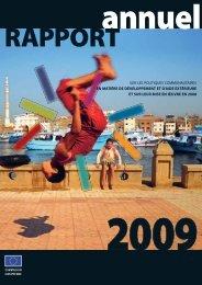 Rapport annuel 2009 sur les politiques de développement et d'aide ...
