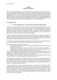 compte-rendu du GTN INCO - Eurosfaire