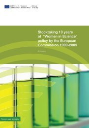 "Stocktaking 10 years of ""Women in Science"" policy by the European ..."