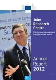 JRC Annual Report 2012 - European Commission - Europa