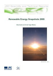Renewable Energy Snapshots 2009