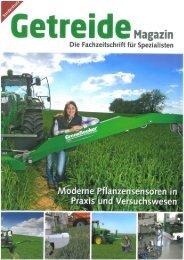 GetreideMagazin Sonderdruck: Bestandesführung mit Sensor