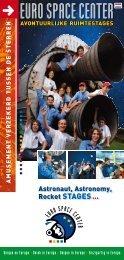Avontuurlijke ruimtestages - Euro Space Center