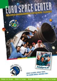 Educational programmes - Euro Space Center