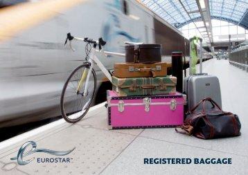 details on Registered Baggage - Eurostar