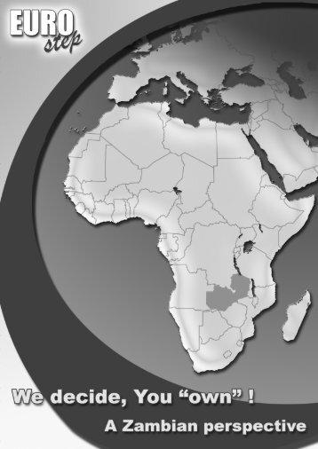 case study on Zambia - Eurostep