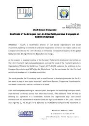 saapeeurostep press release 10 sept 2008