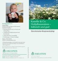 Heilpflanzentees - Asklepios Kinderklinik Sankt Augustin