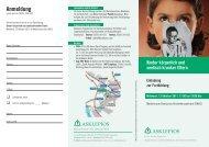 Anmeldung - Asklepios Kinderklinik Sankt Augustin