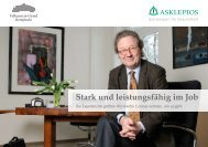 Stark und leistungsfähig im Job  - Asklepios
