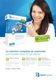 La solution complète et conviviale pour accéder à des PC via Internet