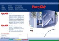 EuroCUT Basic EuroCUT MultiUser