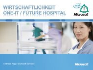 Andreas Kopp, Microsoft Services - Asklepios
