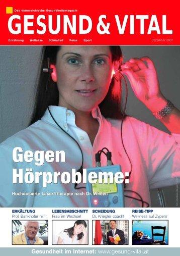 Gegen Hörprobleme: Gegen Hörprobleme: - Dr Wilden