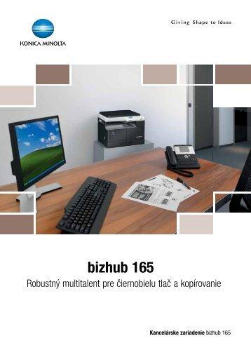 bizhub 165 - Heico spol. s r.o.