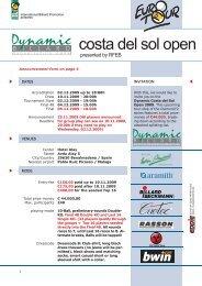 2009-07 dynamic costa del sol open englisch.indd - Diamond Nine ...