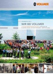 VOLLMER Mitarbeiterzeitung 2012