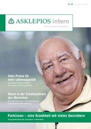 Parkinson – eine Krankheit mit vielen Gesichtern - Asklepios
