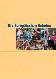 Die Europäischen Schulen
