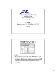 What is DOCEE ?