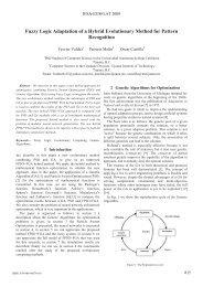 Fuzzy Logic Adaptation of a Hybrid Evolutionary Method ... - EUSFLAT