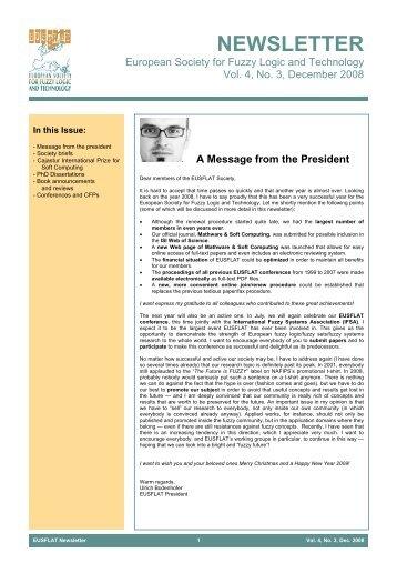 Vol. 4, No. 3, December 2008 - EUSFLAT