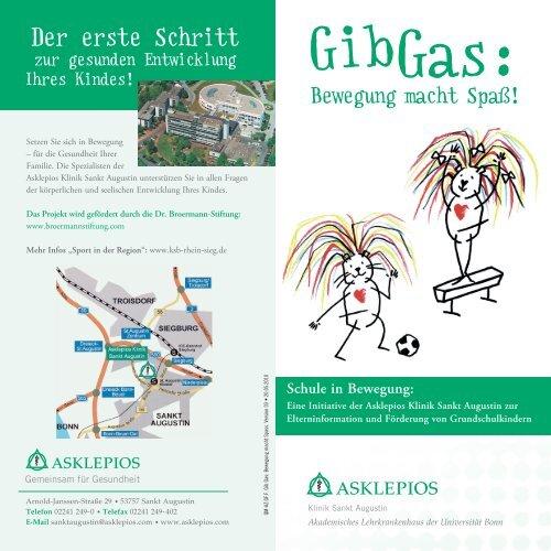 Vorträge und Kurse - Asklepios Kinderklinik Sankt Augustin