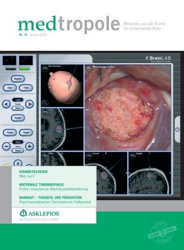 medtropoleAktuelles aus der Klinik für einweisende Ärzte - Asklepios