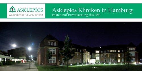 Fakten zur Privatisierung des LBK - Asklepios